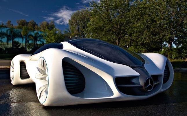 rides cars mercedes-benz biome concept