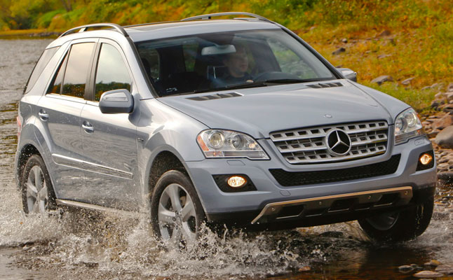rides cars mercedes-benz ml350 bluetec