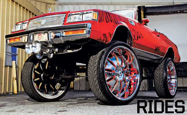 rides cars 1985 buick regal lifted