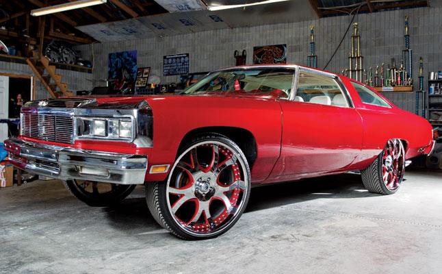 rides cars zach randolph red donk 1975 chevrolet impala