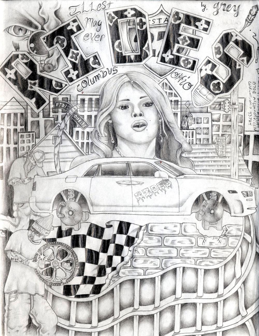 rides cars drawings Thomas-Wilson_Caldwell,-OH ohio