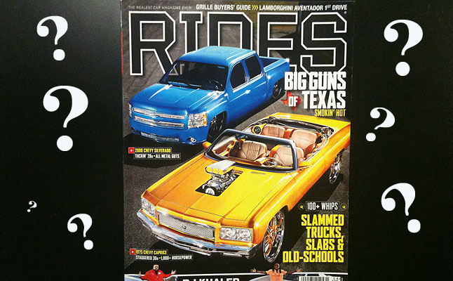 rides cars rides-what-happened-issue
