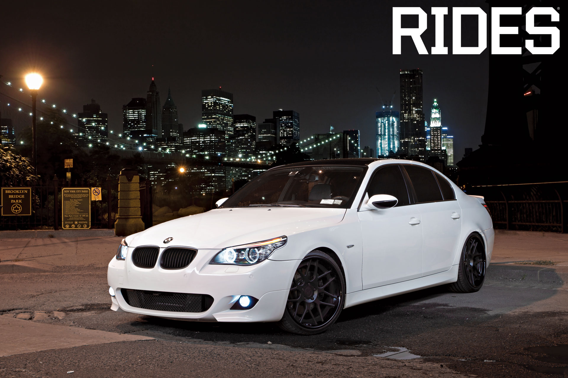 rides cars bmw 550i nyc zuckerberg