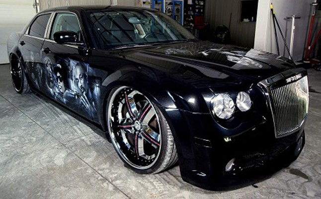 2005, Chrysler, 300, SRT-8, Custom, Rides