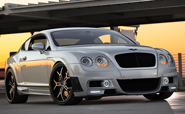 2005, Bentley, GT, Wald, Custom, Forgiato, Rides