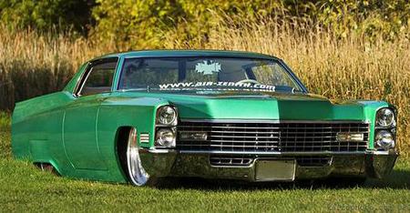 Cadillac, Deville, 1967, Custom, Rides