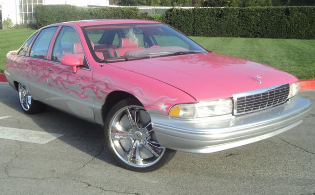 1991, Chevrolet, Caprice, Custom, Rides