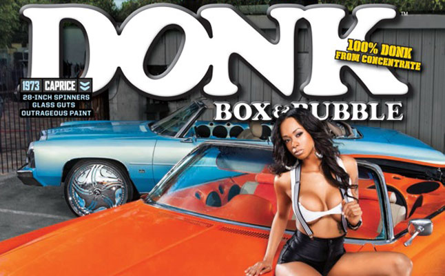 rides cars DONK 7 COVER impala chevy chevrolet caprice florida girls box bubble