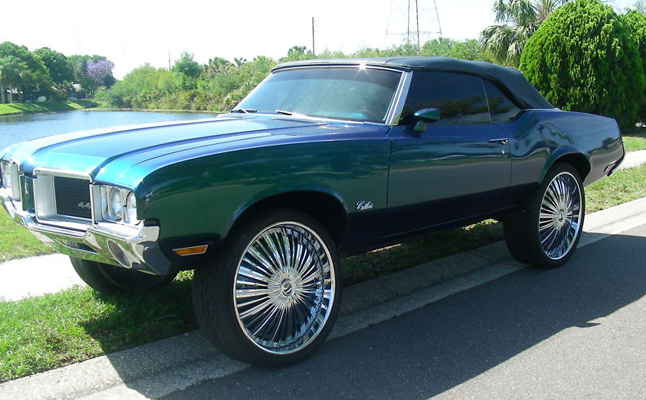 1971, Oldsmobile, Cutlass, Custom, Rides
