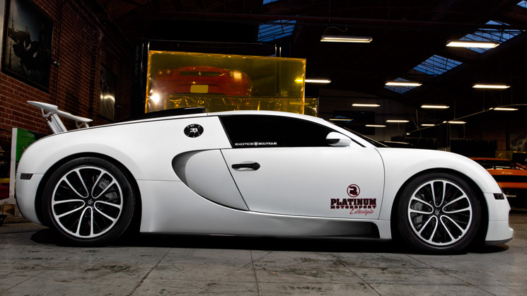 rides cars bugatti veyron bc matte white california