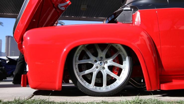 rides sema 2012 dope fitment rims wheels