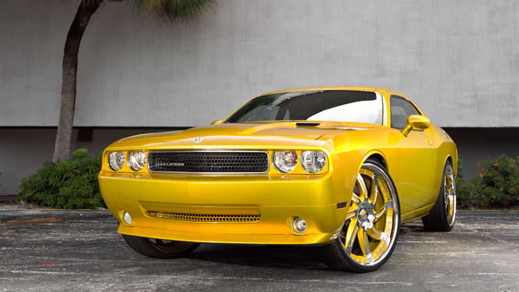 2009, Dodge, Challenger, Custom, Rides, Forgiato