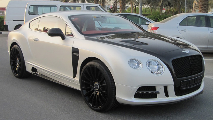 rides cars bentley continental gt mansory body kit 2012