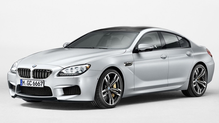 bmw m6 gran coupe m5 v8 sedan turbo 2013