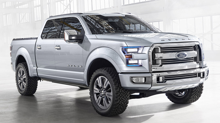 ford atlas concept f-150 f-series f series detroit super duty pickup truck rides 2013