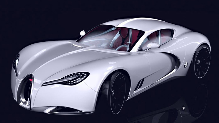 bugatti gangloff concept veyron replacement successor type 57
