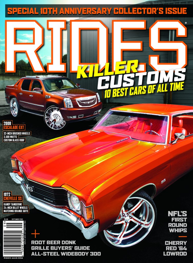 rides september 2013 cover