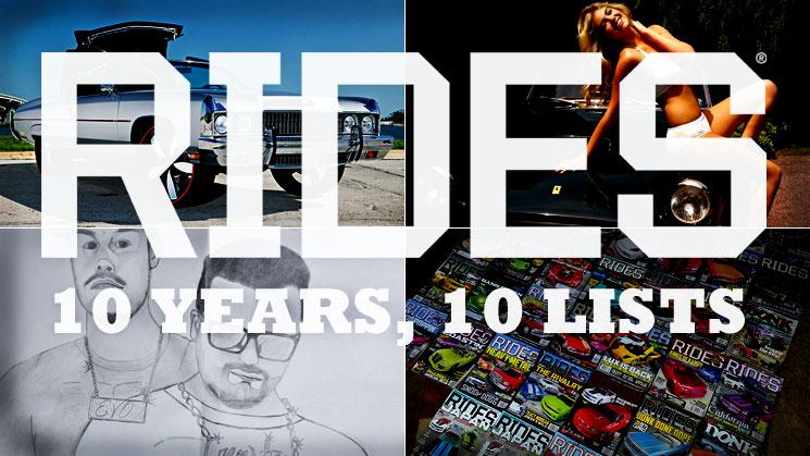 rides 10 years anniversary list best addiction kate upton donk illest tattoo