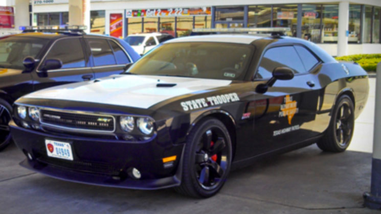 rides mario williams dodge challenger srt8 392 texas highway cop police car custom