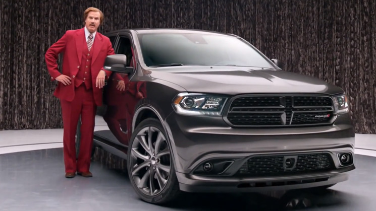 ron-burgundy-rides-dodge-durango