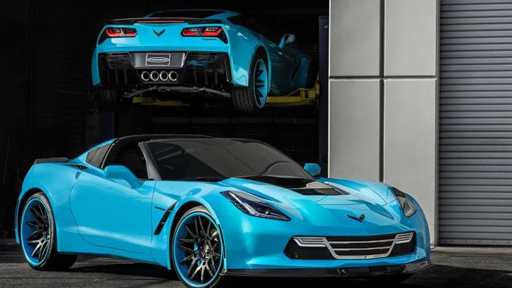 widebody corvette c7 twins 2