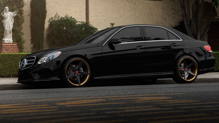 mercedes benz e550 lab forged wheels e class rides magazine