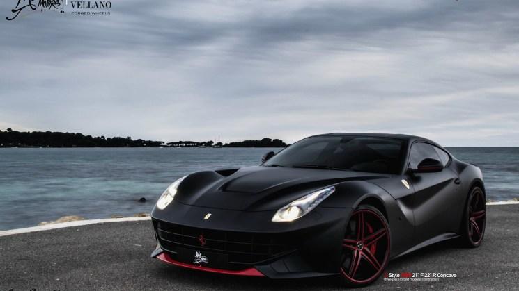 ferrari f12berlinetta vellano vkn matte black rides magazine