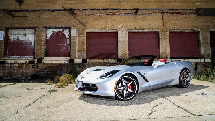 Convertible C7 by Rim Source in Baltimore on Forgiato Fata-ECL+1