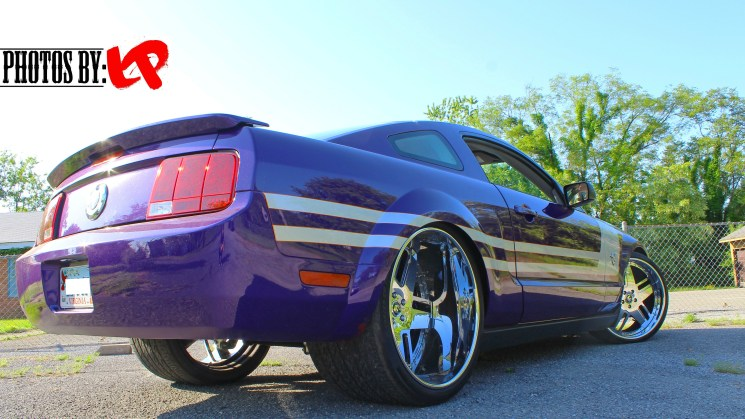 twin turbo tubbed mustang forgiatos 3