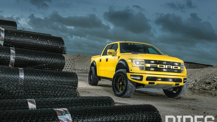RIDES MC Yellow Raptor 5