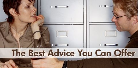 The Best Advice You Can Offer