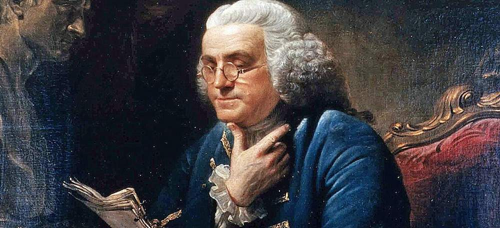 Benjamin Franklin, Doyen of the Self-improvement Movement