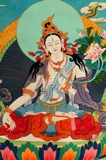 Gods in Buddhism Religion - White Tara