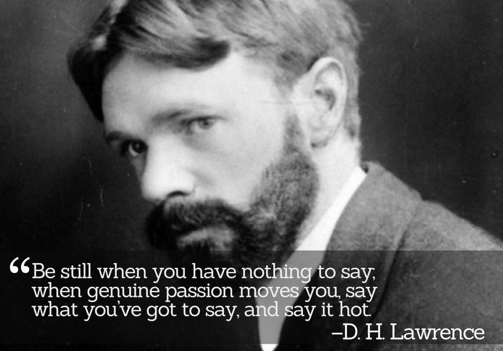 Inspirational Quotations by D. H. Lawrence