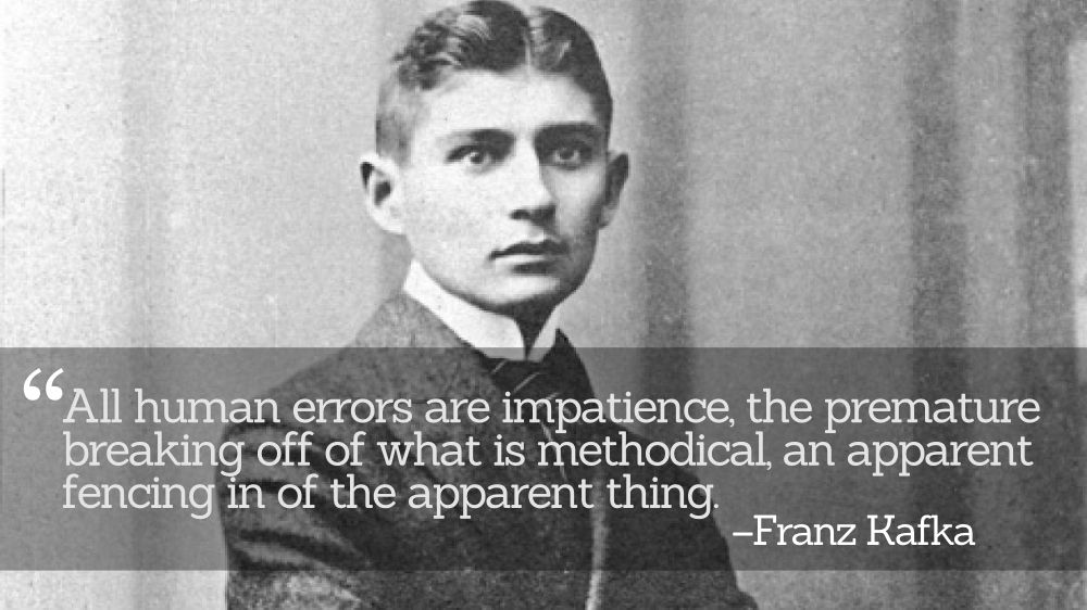 """analysis of franz kafkas the judgement In the name of the father: a lacanian and derridean analysis of kafka's """"the judgment"""" samantha goldasich and toming jun liu abstract: kafka's art is one of negative capability immersed in negative."""