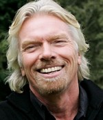 Richard Branson of the Virgin Group