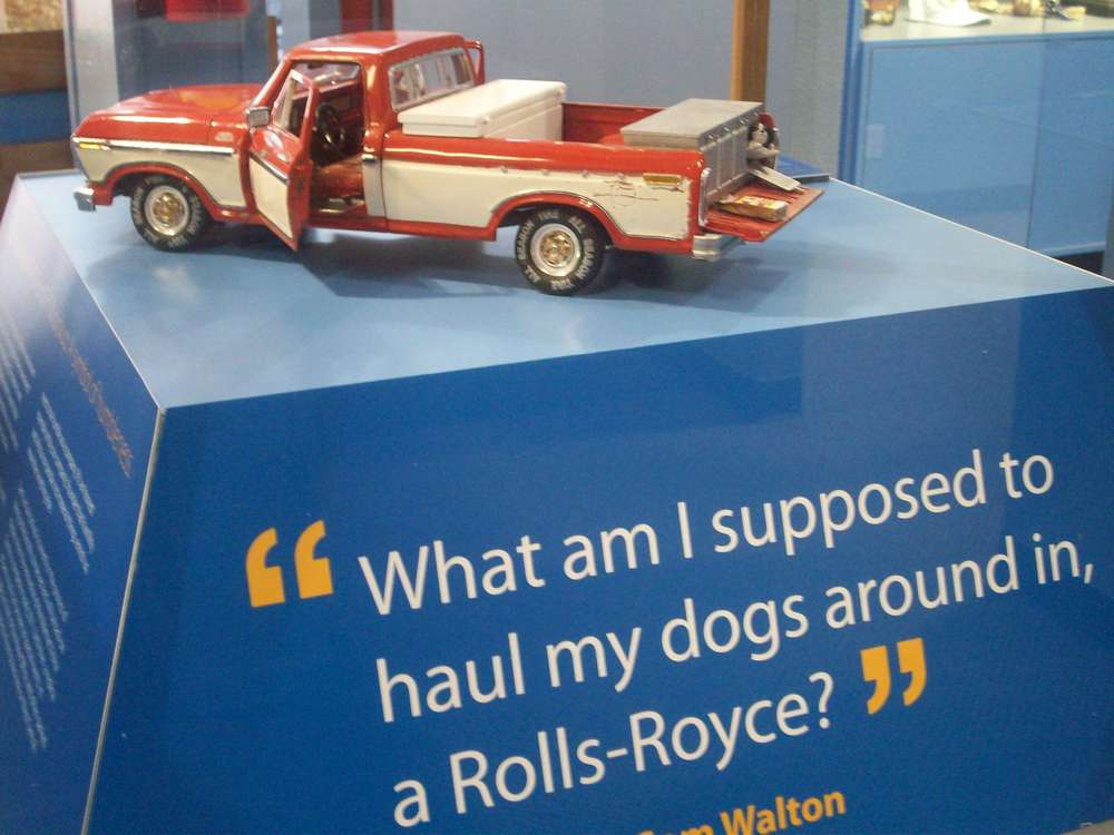 Sam Walton's Red 1985 Ford Pickup Truck