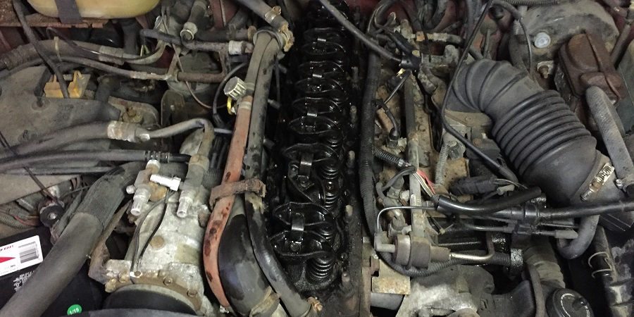 Jeep engine trouble