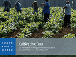 HRW Report: Cultivating Fear