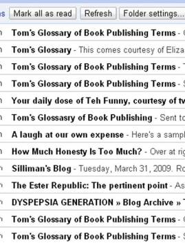 links to tom's glossary of publishing terms
