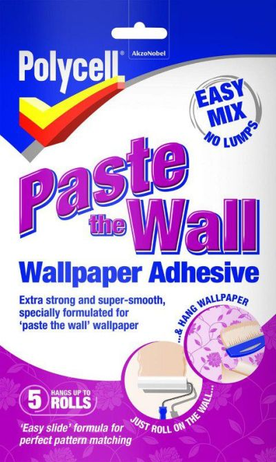 Polycell - Paste The Wall - Wallpaper Adhesive