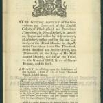 [Newport, R.I.: Printed by Solomon Southwick, 1773]