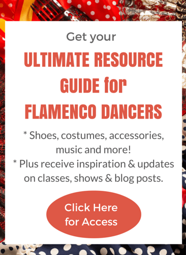 Resource Guide for Flamenco Dancers