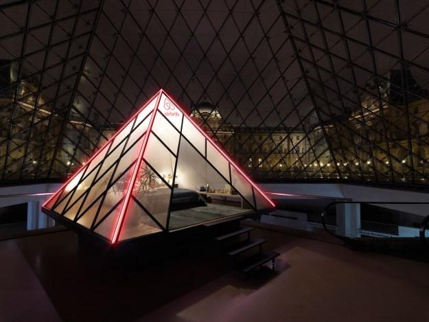 Übernachten im Louvre mit Airbnb