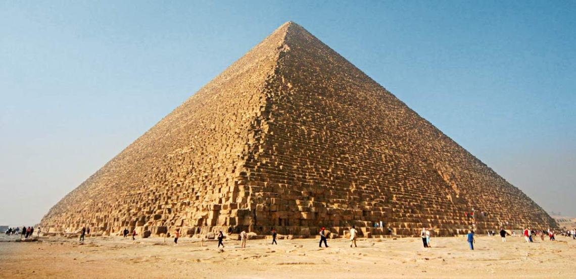 The Great Pyramid of Giza. photo: Nina Aldin Thune