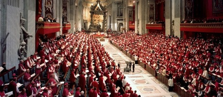 MEETING DURING SECOND VATICAN COUNCIL FILE PHOTO