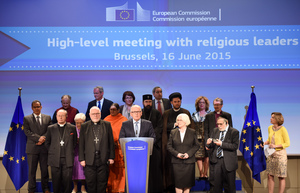 Frans Timmermans participates in the high level religious leaders meeting