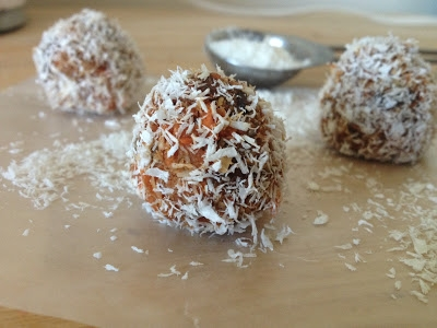 Paleo Coconut Carrots