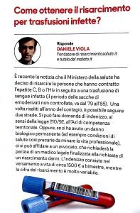 Daniele Viola intervista malasanità risarcimento sangue infetto trasfusioni Star Bene