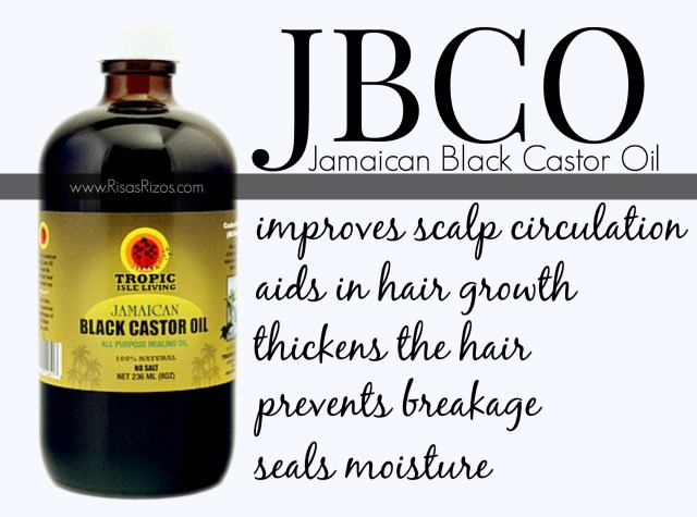 Benefits of Using Jamaican Black Castor Oil on your Naturally Curly Hair